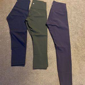 Lululemon wunder under HR luxtreme size6